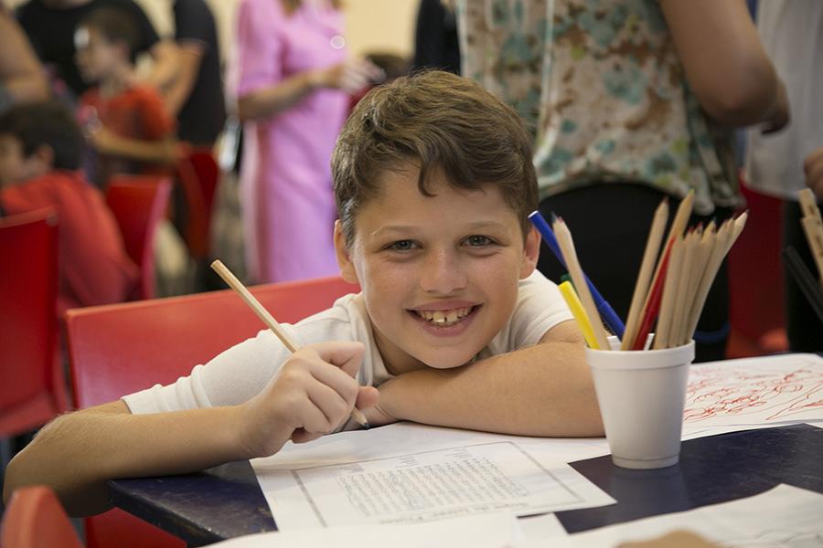 Entrega de útiles escolares – Programa ABC